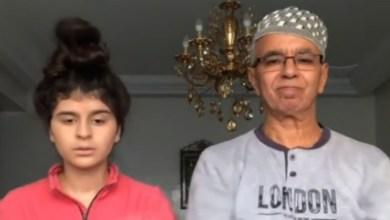 صورة فيديو بكاء والد الكوميدية كوثر بامو يُشعل وسائل التواصل الاجتماعي