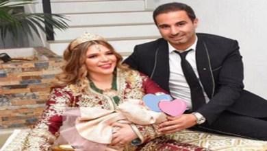 صورة البطل المغربي مهدي بناني يرزق بمولودة- صورة