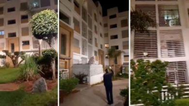 """صورة مغاربة يرددون النشيد الوطني من منازلهم بسبب انتشار فيروس """"كورونا"""" – فيديو"""