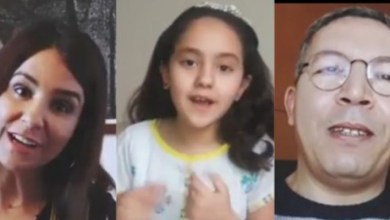 """صورة جامع كولحسن وسامية أقريو يجتمعان في """"نداء الطفولة"""" – فيديو"""
