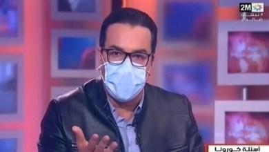 صورة فنانة مغربية تنهار بسبب تلقيها خبر وفاة الغماري- فيديو