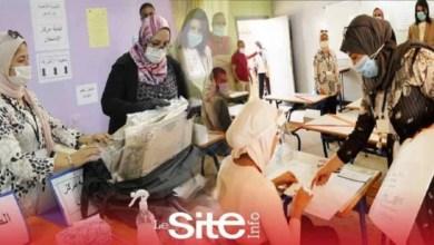 صورة تطبيق تدابير وقائية مشددة خلال إجراء إمتحانات الدورة الإستدراكية لتلاميذ الباكالوريا – فيديو