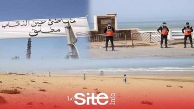 صورة إجراءات أمنية مشددة بشاطئ عين الذياب بعد إغلاقه بوجه المصطافين – فيديو