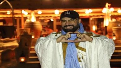صورة محمد رضى يغني للصحراء المغربية – فيديو
