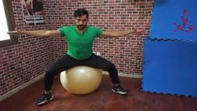 """صورة """"كوتش ياسين"""" يقدم حركات رياضية للنساء الحوامل -فيديو"""