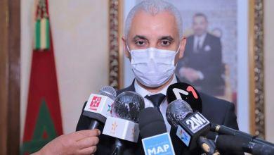 صورة وزير الصحة يتحدث عن عودة الحياة الى طبيعتها قبل رمضان المقبل