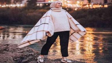 صورة موضة أزياء المحجبات لشتاء 2020/2021-صور