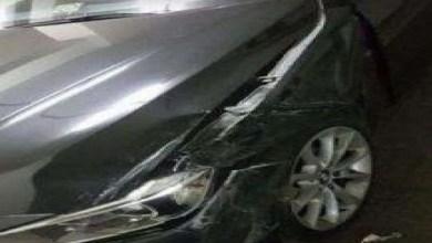 صورة نجاة فنانة شهيرة من حادث مميت -صور