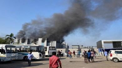 صورة الهند.. حريق مهول بأكبر معهد لإنتاج اللقاحات – فيديو