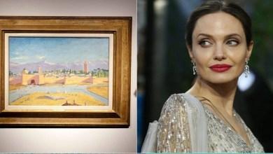 """صورة أنجلينا جولي تبيع """"لوحة مراكش"""" بملايين الدولارات"""