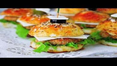صورة وصفات رمضان.. أسهل ميني برجر بالدجاج لوجبة الفطار -فيديو