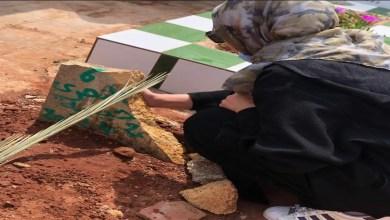 صورة من أمام قبرها.. فدوى الطالب في رسالة مؤثرة لجدتها