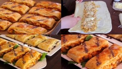 صورة وصفات رمضان.. فطائر مالحة بعجينة سحرية- فيديو