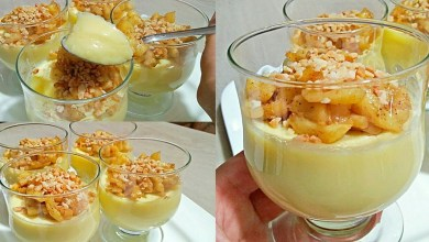 صورة وصفات رمضان.. تحلية بالتفاح سهلة التحضير -فيديو