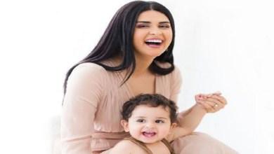صورة سلمى رشيد تفرج عن أحدث أعمالها رفقة ابنها -فيديو