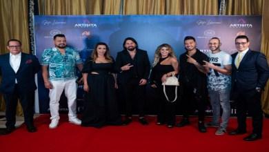 """صورة من قلب دبي.. تفاصيل حفل إطلاق غيثة لحمامصي لأغنية """"ندمانة"""""""