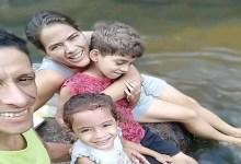 صورة رب أسرة يقتل زوجته وأطفاله الثلاثة ويشنق نفسه