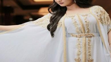 صورة جديد اللباس المغربي التقليدي.. قفطان جوهرة بالسلهام- صور