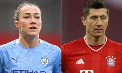 Lewandoski and Lucy Bronze