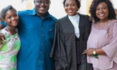 Mama Esther's daughter turns a lawyer at age 24