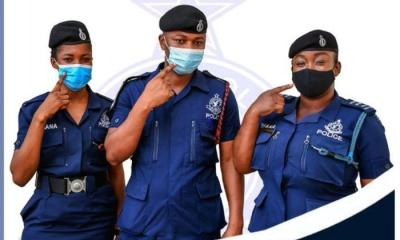 Ghana Police warns Ghanaians to use face mask