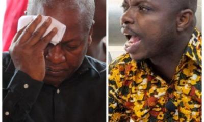 Show Leadership By Examples: Go For The Vaccines Instead Of Weeping At Court - Abronye DC Blasts John Mahama