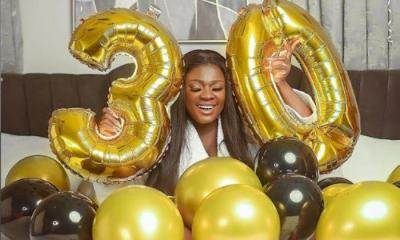 Tracey Boakye celebrtaes her 30th birthday
