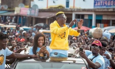 Shatta Wale Allegedly Organizes Nima Boys To Beat Road Workers After They Refused To Let Him Use A Road Being Worked On (Video)