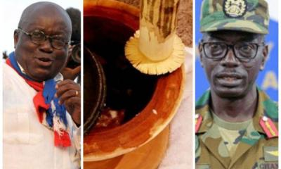 Soldiers turned fufu pounders 1