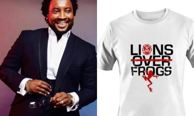 This Is Too Much: Ph.D. Sonnie Badu Takes Advantage Of Controversy To Sell 'Lions Over Frogs' T-shirts For GH¢550.00