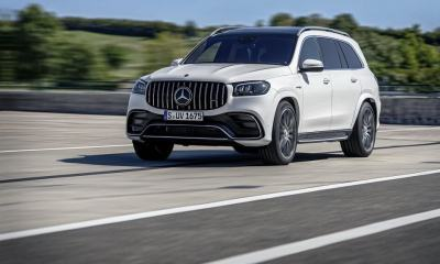 2021 Mercedes AMG GLS 63 Is A New High-Performance 7-Seater