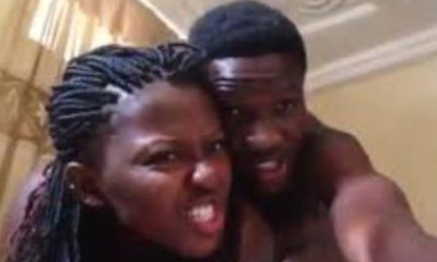 Legon Students Caught In A Video Chopping ROMANCE Following Lecturers' Strike – WATCH