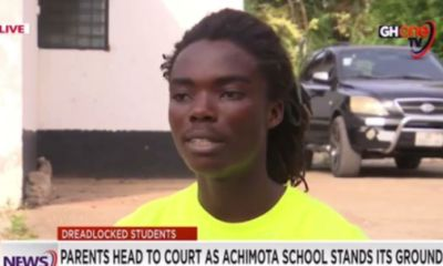 Rastafarian Student Finally Reveals The First Thing He Will Do When He Enters Achimota School