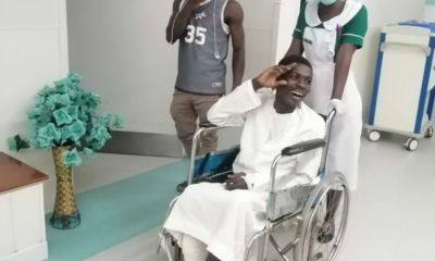 NDC MP Pays Surgery Bill Of NSS Personnel Who Fell From 4th Floor At The University Of Ghana