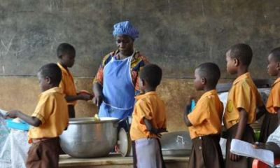 Caterers For The School Feeding Programme Goes Angry Over GH¢1.00 Per Child Feeding Grant