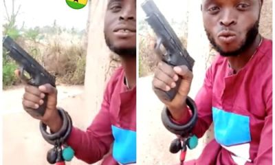 """Police Arrest Notorious Armed Robber Who Made """"Kill Them All"""" Comments With A Brandishing Gun"""