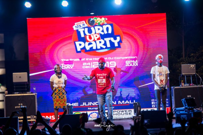 Merqury Quaye, host of Turn Up Party