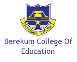 Berekum College of Education Admission List