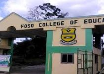 Foso College of Education Cut Off Points