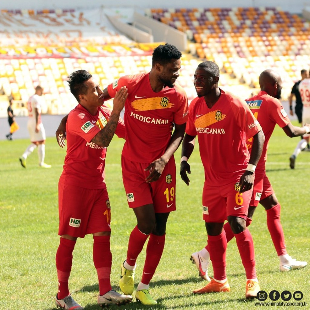 Benjamin Tetteh's Maiden Strike Seals Victory For Yeni Malatyaspor Against Antalyaspor - Ghana Football News