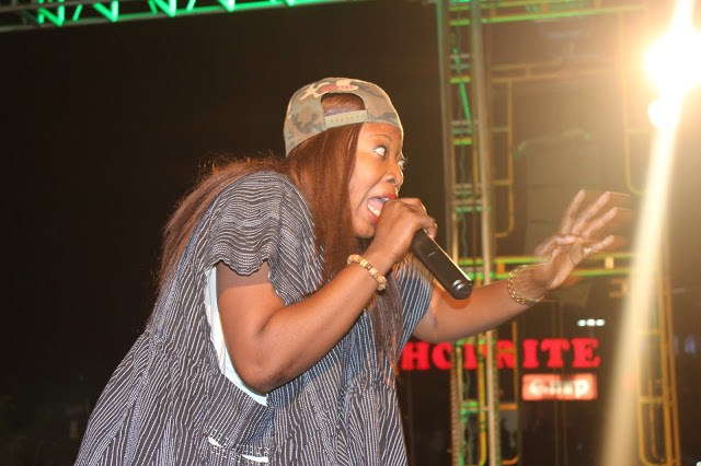 Female rapper Ohemaa Dadao