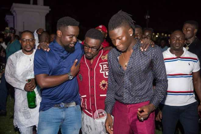 Sarkodie, NAM1 and Stonebwoy