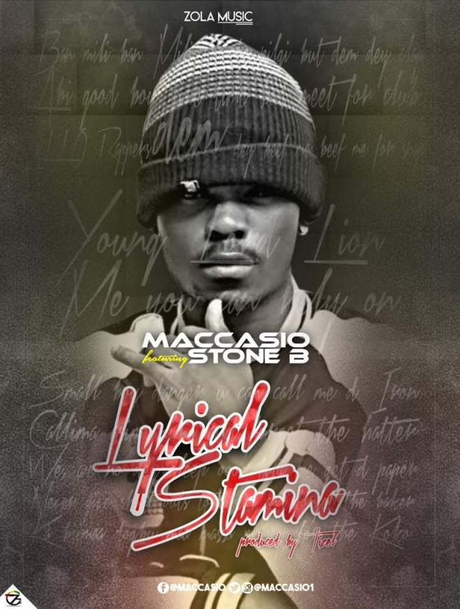 "Maccasio announces new Hip-hop jam ""Lyrical Stamina"""