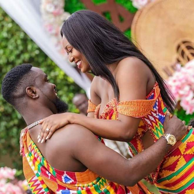Sarkodie and Tracy's wedding