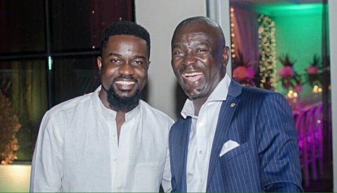 Sarkodie and Prince Kofi Amoabeng