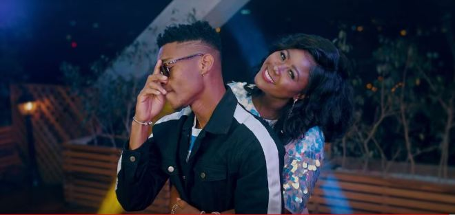 "KiDi features actress Salma Mumin in ""Thunder"" music video"