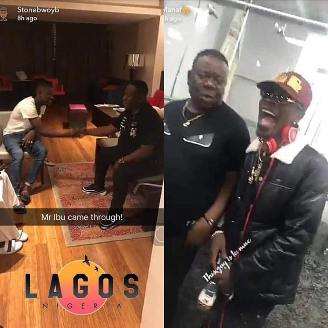 Shatta Wale, Stonebwoy and Mr Ibu