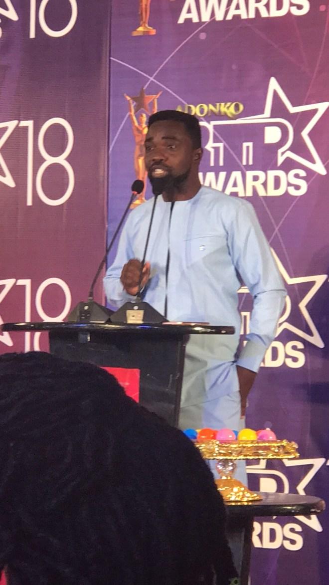 The CEO of Big Event Ghana, Prince Mackay