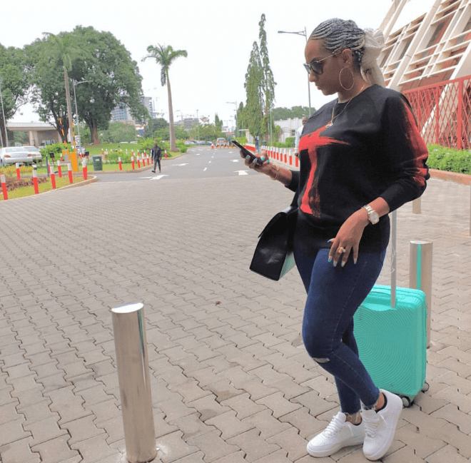 Juliet Ibrahim serving casual style