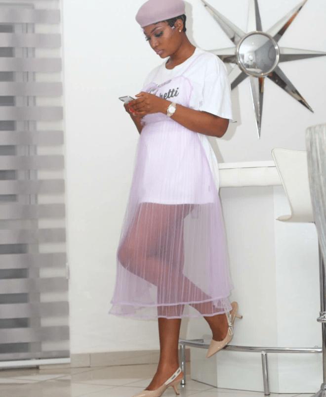 Sandra Ankobia at the Glitz fashion week 2018
